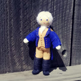 George Washington figurine Doll handmade