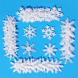 Felt Snowflake Shapes