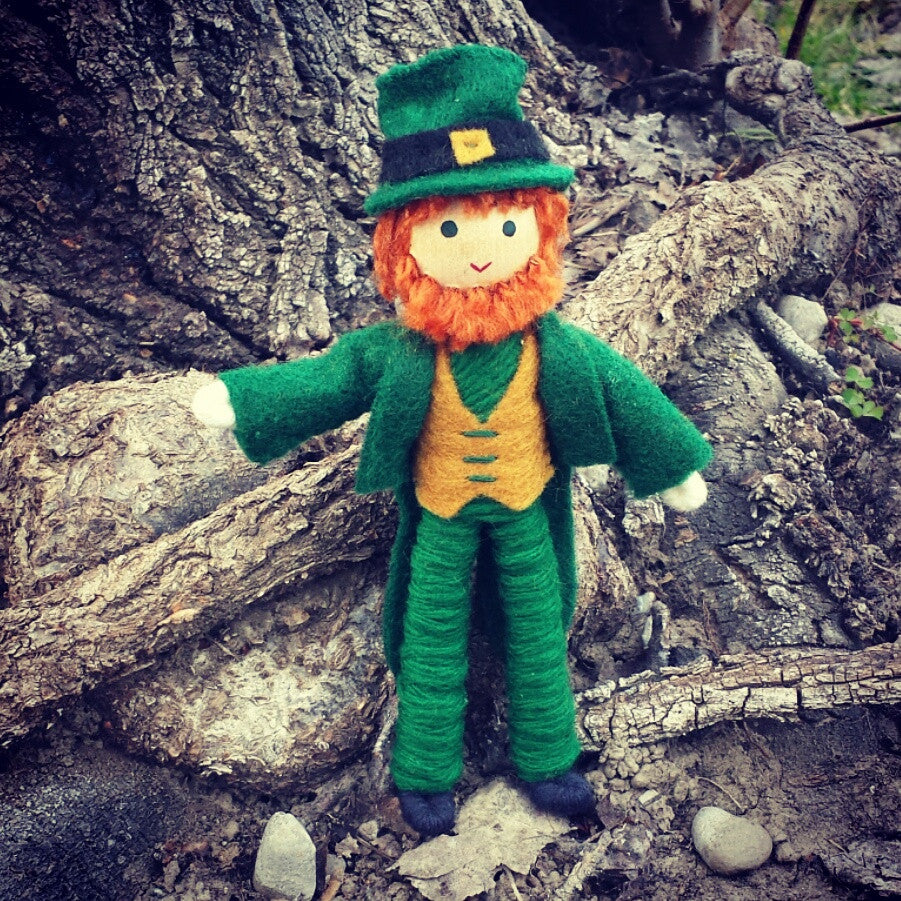 Leprechaun doll Wildflower toys