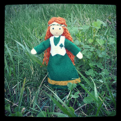 Irish doll Wildflower toys