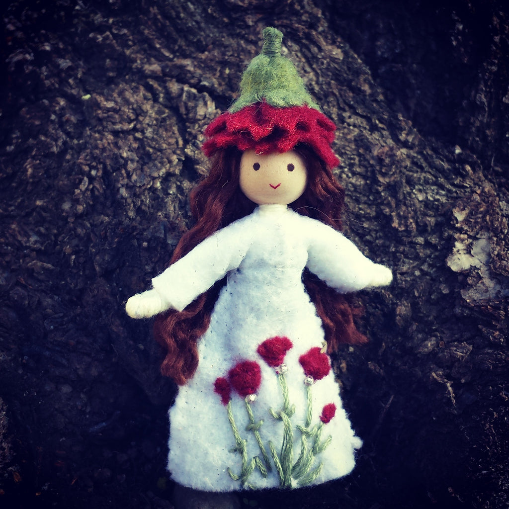Carnation January Birthday Doll