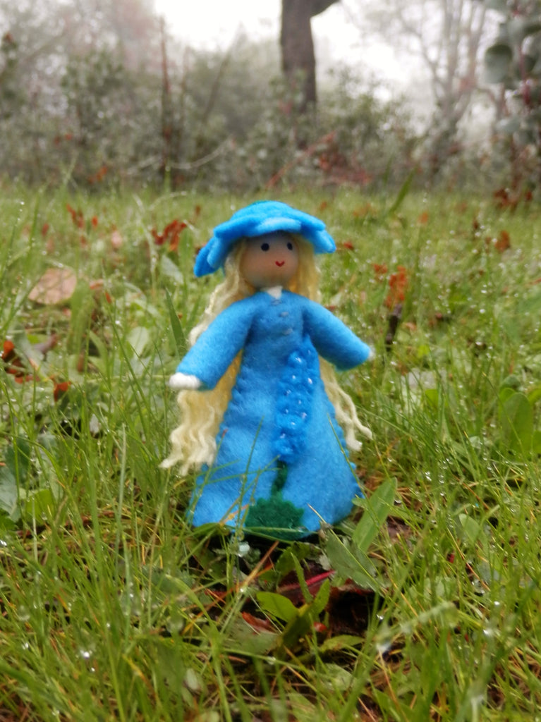 Larkspur July Birthday Doll