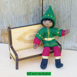 Kindness Elf Wooden Bench