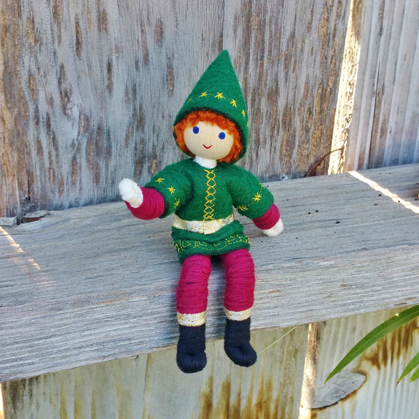 African American Kindness Elves Handmade Wildflower Toys
