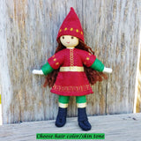 Holiday Caring Elves Girl (red hair)