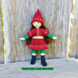 Holiday Caring Elves Girl (dark skin)