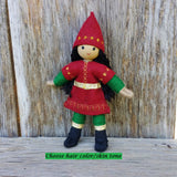 Holiday Caring Elves Girl Asian