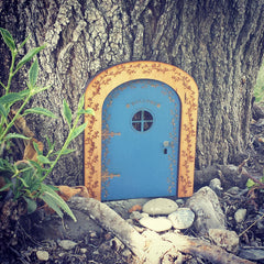 Light Blue Fairy Door
