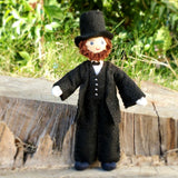 Abraham Lincoln doll figure