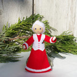 Mrs. Claus doll handmade