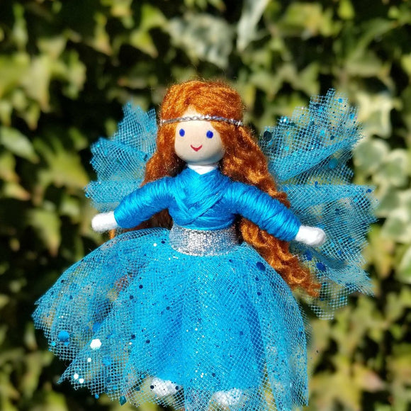 Blue Fairy doll handmade