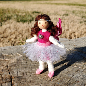 Valentine's day fairy doll toy