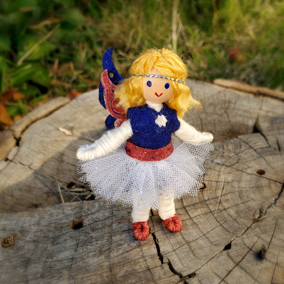 Independence Day Fairy Doll