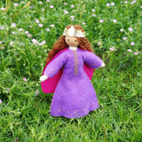 Natural Dollhouse Princess Doll
