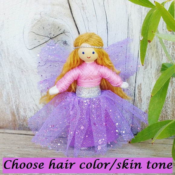Sparkle Fairy Lilac & Pink
