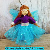 Sparkle Fairy Purple & Blue