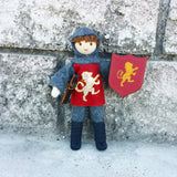 Dollhouse castle knight doll Wildflower toys