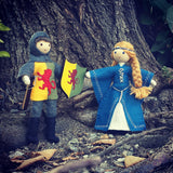 Sir William Marshal & Isabel de Clare inspired set
