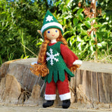 Christmas Elf Girl Doll