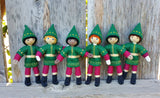 Kindness Elves choose hair color and skin tone. Made in the USA Brown skin Kindness Elves