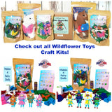 Craft Kits for kids Made in the USA Wildflower Toys