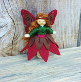 Woodland Fairy Doll (red & brown)