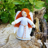 Christmas Angel doll red hair
