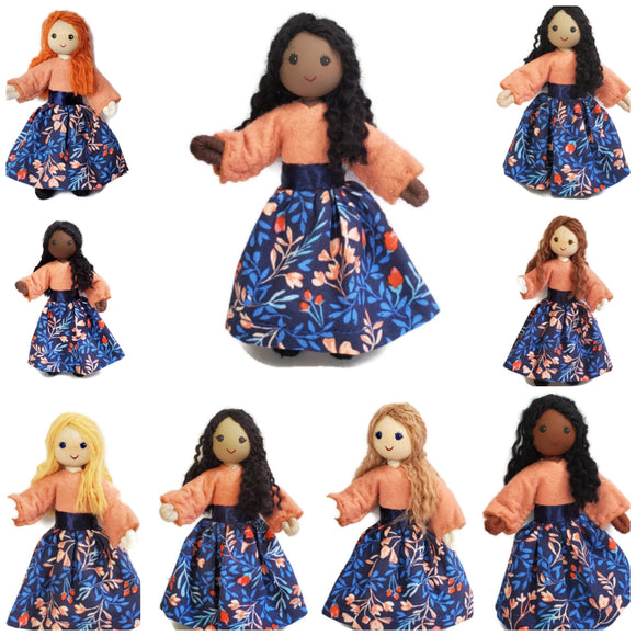 Custom Dollhouse Family Mother