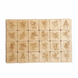 Wooden Fairy Memory Game