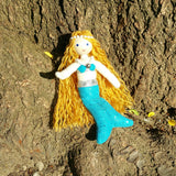 Mermaid Doll - Blue