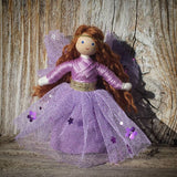 Purple fairy doll Wildflower Toys