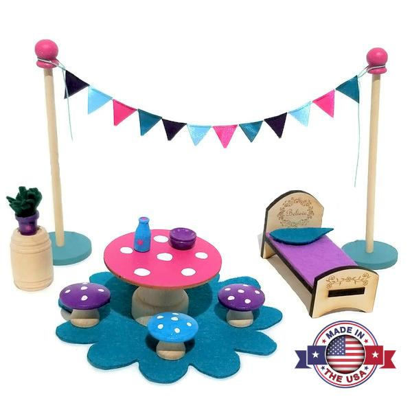Fairy Furniture Play Set