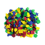 Jumbo Pack Assorted Felt Shapes 1.5""