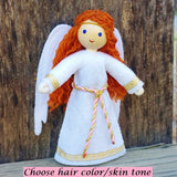 Guardian Angel doll red hair