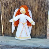 Guardian Angel doll Christmas Angel Red hair