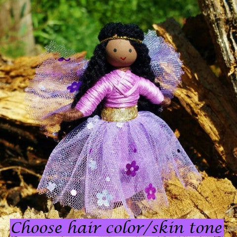 Light Purple  Sparkle Fairy