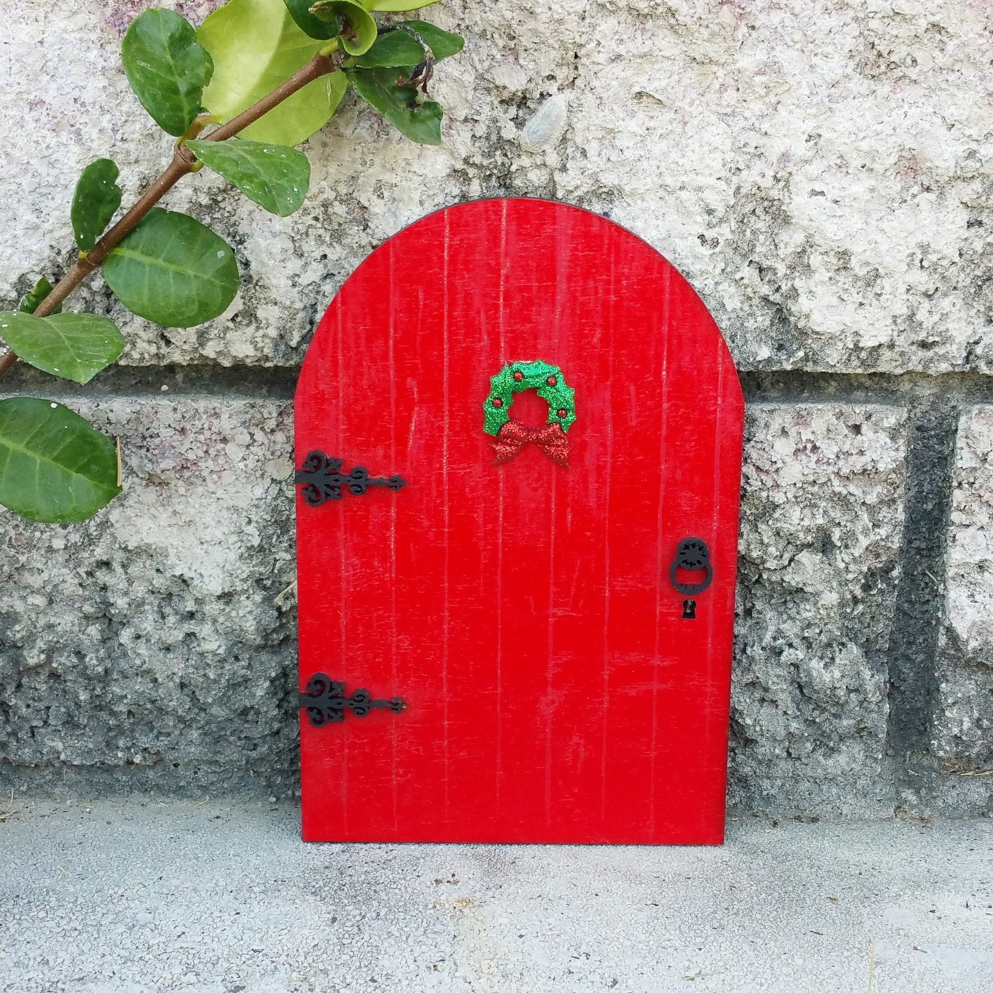 Red Kindness Elf Door Wildflower Toys