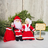 Santa Claus and Mrs. Claus Dolls Kindness Elves