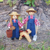 Dollhouse Farmer Doll