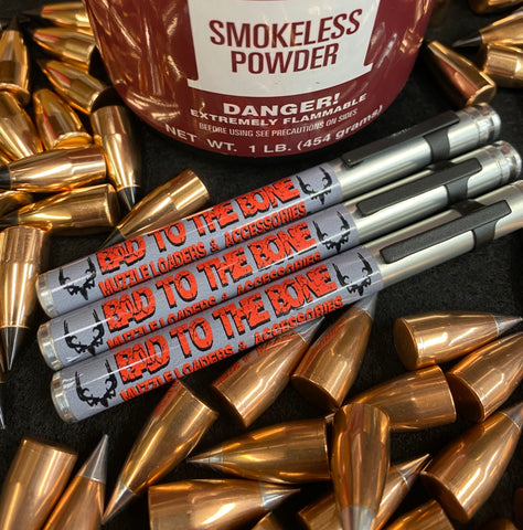 Bad to the Bone Rifle Powder Pen - Smokeless