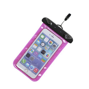 Universal Transparent Armband Waterproof Sealed Dry Phone Bag Case