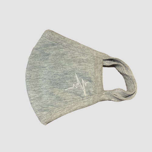 Ritual Heartbeat Face Mask - Gray