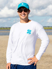 Sandbar Life Men's Long Sleeve Performance Tee