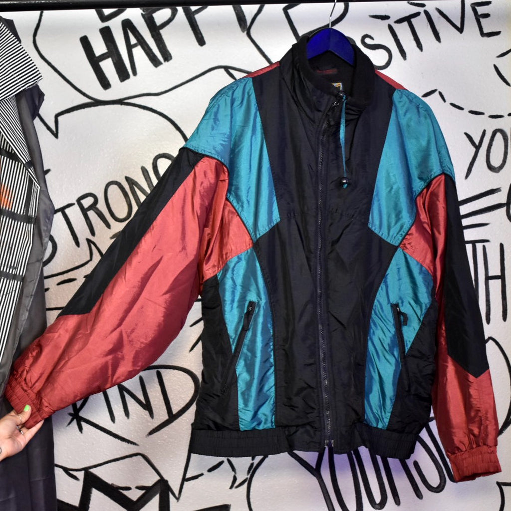 Vintage 90s Cool Winbreaker Jacket XL