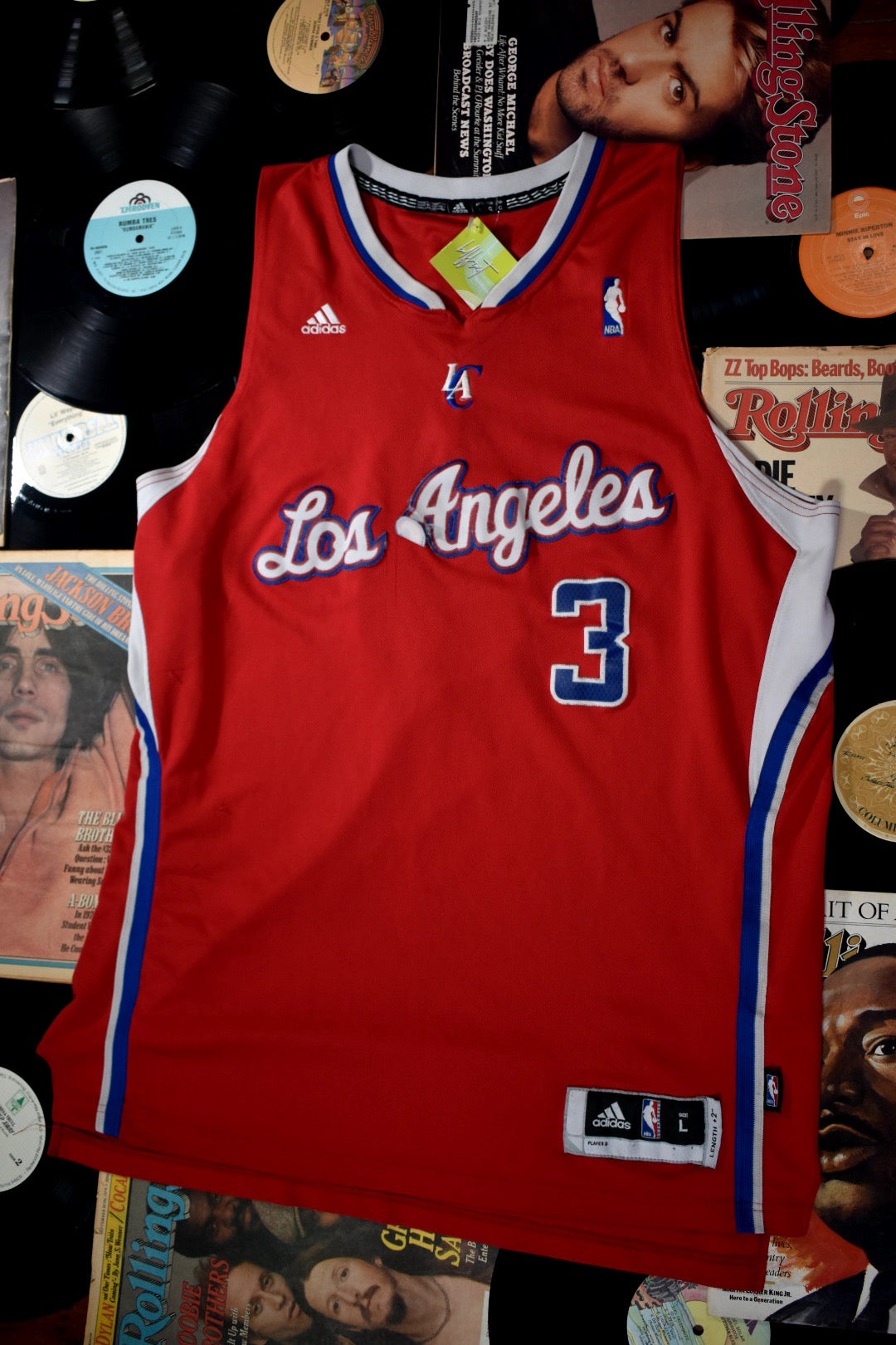 Adidas LA Clippers Chris Paul #3 Jersey