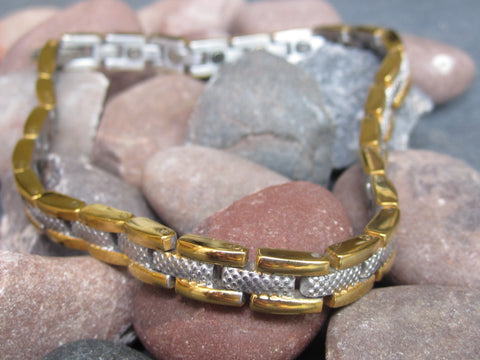 Ladies Stainless Steel Magnetic Bracelet