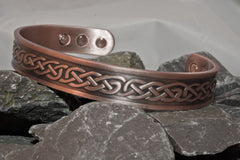 Men's Copper Magnetic Bangle