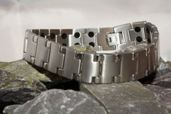 Men's Titanium Double Magnetic Bracelet
