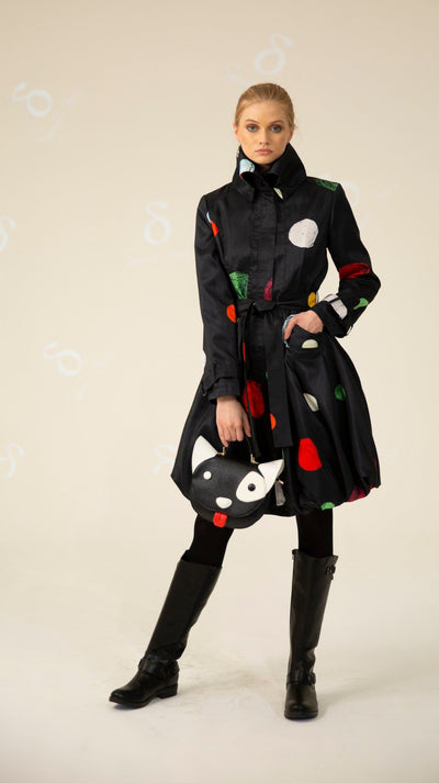 Prints Bubble Coat Dress