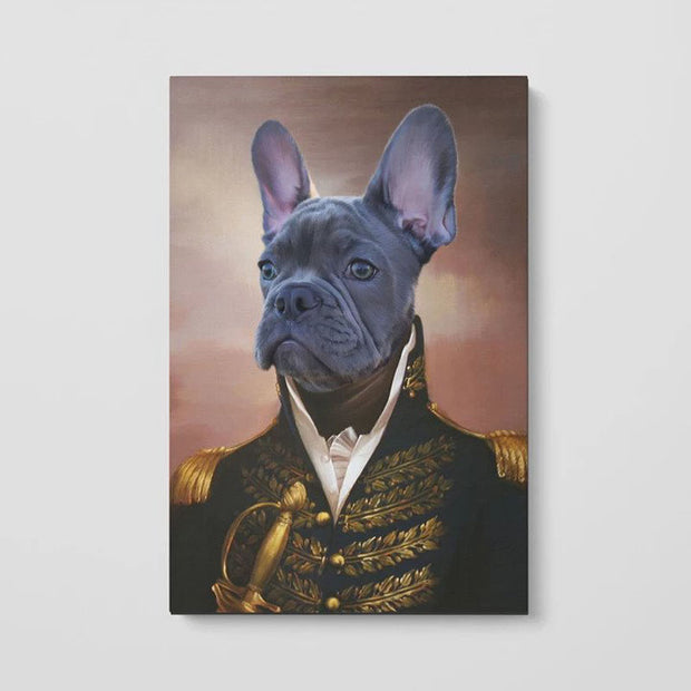 The General - Custom Pet Poster - The Vintage Paws